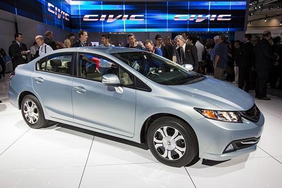 2013 Honda Civic at LA Auto Show