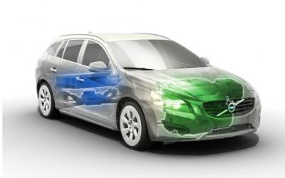 Volvo diesel hybrid plug-in