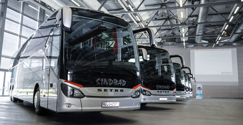 Setra touring coaches