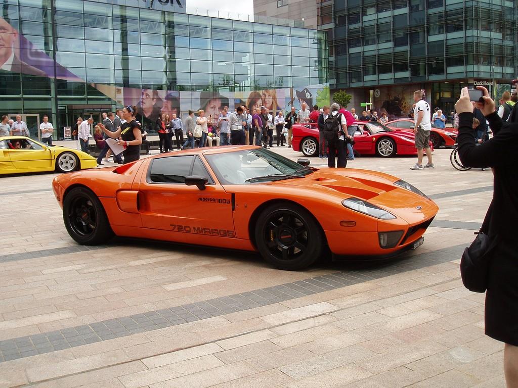 Cars at MediaCity