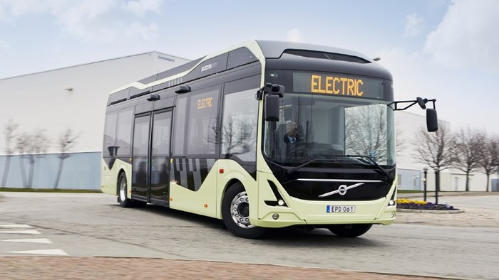 Volvo 11 Electric Hybrid Buses