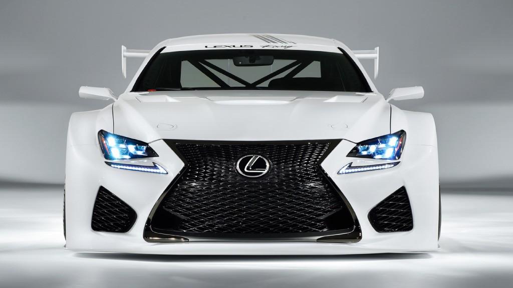 Lexus' RC F GT Concept