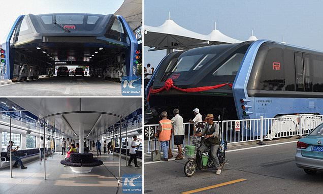 New Transit Elevated Bus