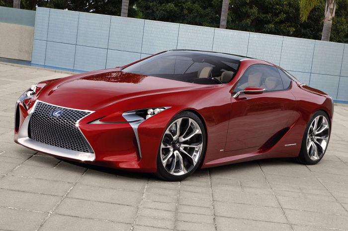 The new Lexus LS 500