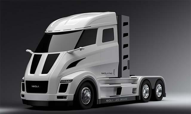 Nikola Hydrogen Electric Trucks