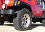 Wheel Size Effects Upon Jeep