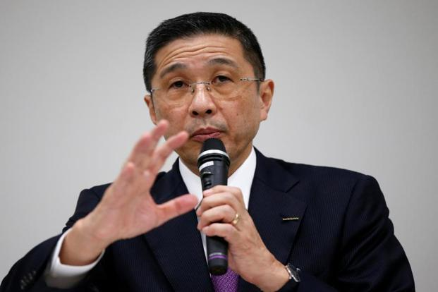 Nissan chief executive Hiroto Saikawa