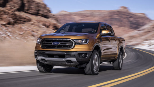 The 2019 Ford Ranger