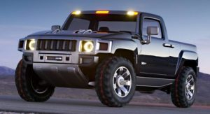 Electric Hummer Pickup Truck