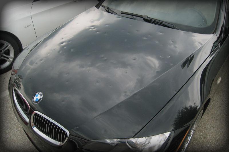 hail storm vehicle repair